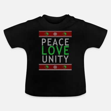Community Peace Love Community Sweater - Baby-T-shirt