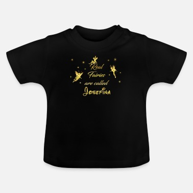 Josefina fee fairies fairy vorname name Josefina - Baby T-Shirt