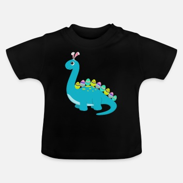 Egg Happy Easter Dinosaur Egg - Baby T-Shirt