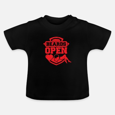 Open Beards Open - Baby T-skjorte