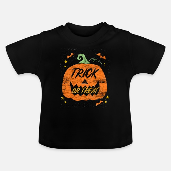 Pumpkin Baby Clothes - pumpkin - Baby T-Shirt black