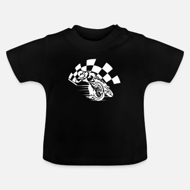 Racing Motorcycle Motorcycle racing - Baby T-Shirt