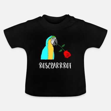 Romantic Roses Parrot Romantic Romantic Gifts - Baby T-Shirt