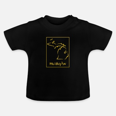 Michigan Michigan - T-shirt baby