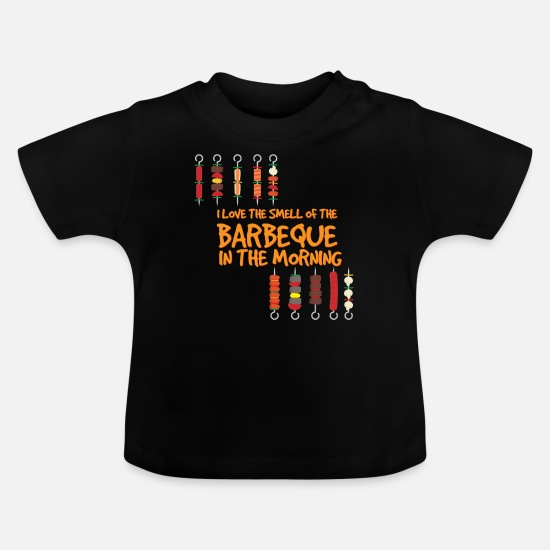 Hog Baby Clothes - Barbeque - Baby T-Shirt black