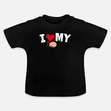I Heart I Heart My Cat - Baby T-shirt