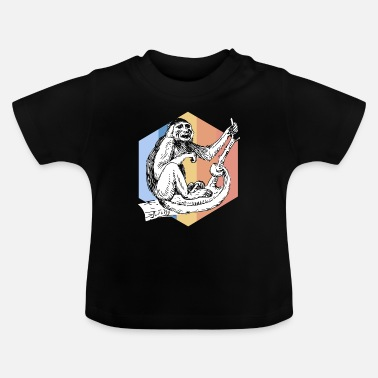 Primat Monkeys primater - Baby T-shirt