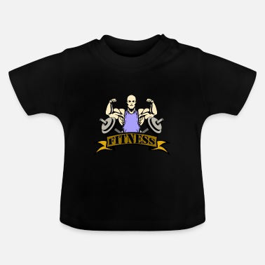Fitness fitness - Baby-T-shirt