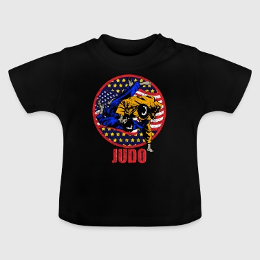 Dress judo - Baby-T-skjorte
