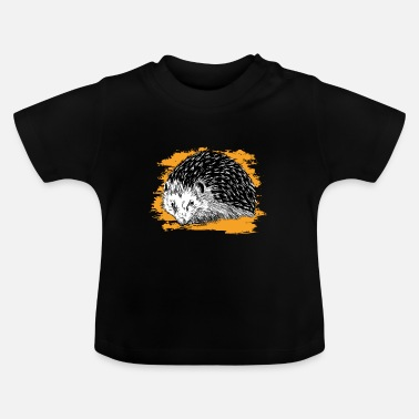 Forest Dweller Hedgehog | Forest animal | Forest dwellers | Bullet - Baby T-Shirt