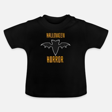 Fledermaus Halloween Horror Fledermaus Shirt & Geschenk - Baby T-Shirt