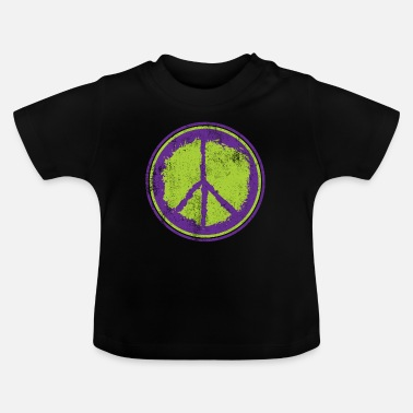 Peace Peace Peace Peace Sign - Baby T-Shirt