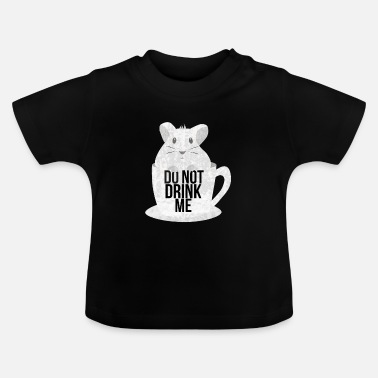 Drague Ne me drague pas souris souris rat souris - T-shirt Bébé