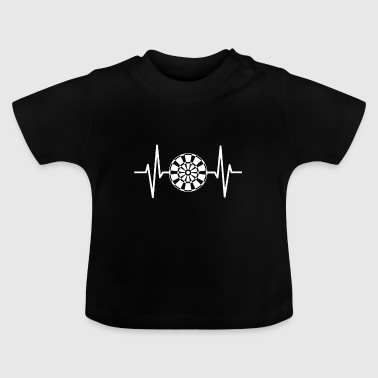Dart Dart Heartbeat Graphic Design Gift - Baby T-shirt