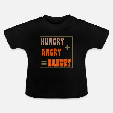 Irritant Hungry + irritant = hangrig - Baby T-shirt