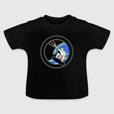 Surf-board Kite surfers - Baby T-Shirt