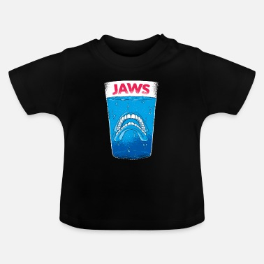 Jaws Jaws teeth - molars - Baby T-Shirt