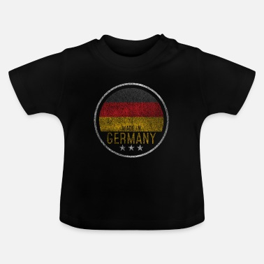 Vlag Van Duitsland Germany Baby Pregnancy Made in - Baby T-shirt