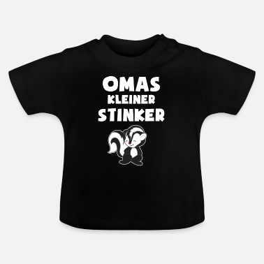 Stinker Grandma's little stinker - gift - Baby T-Shirt
