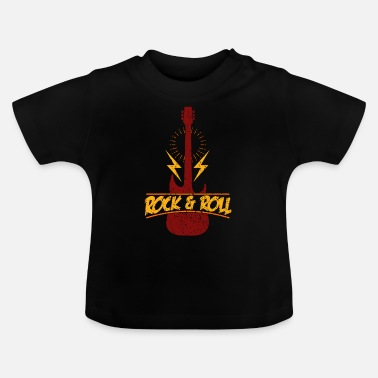 Rock And Roll Rock and roll - Camiseta bebé