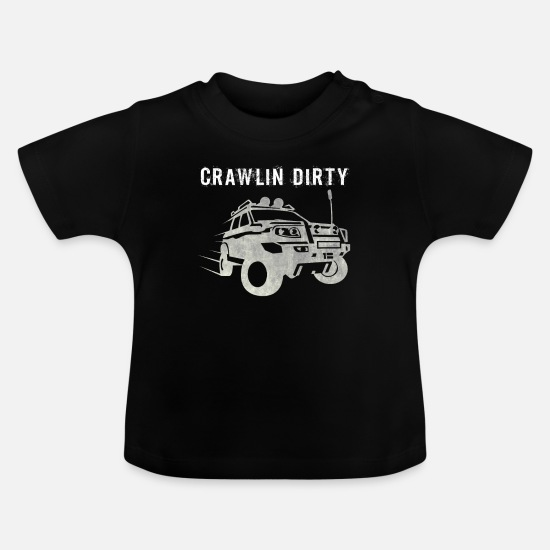 Gift Idea Baby Clothes - Offroad - Baby T-Shirt black