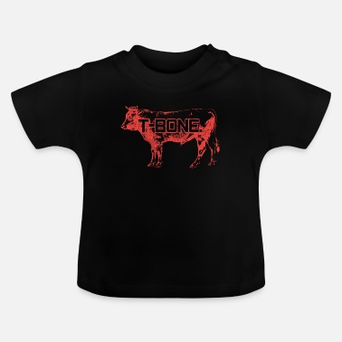 Nötkreatur T Bone Steak Steak Prime Steakhouse - Baby-T-shirt