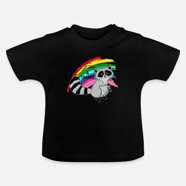 Trash Gay et Trash - T-shirt Bébé