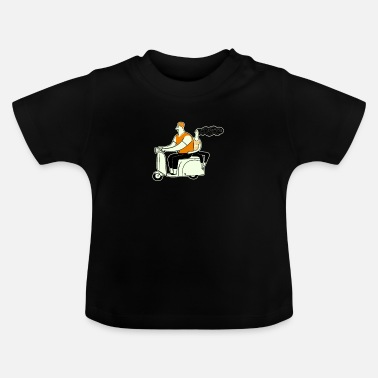 Gal Scooter Guy and Gal - Baby T-Shirt