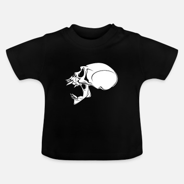 Undead UNDEAD SKULL - Baby-T-shirt