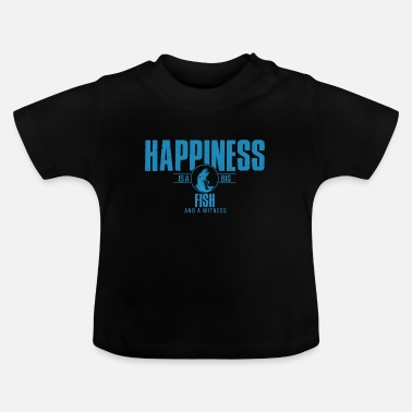 Happiness is a Big Fish - Baby T-Shirt