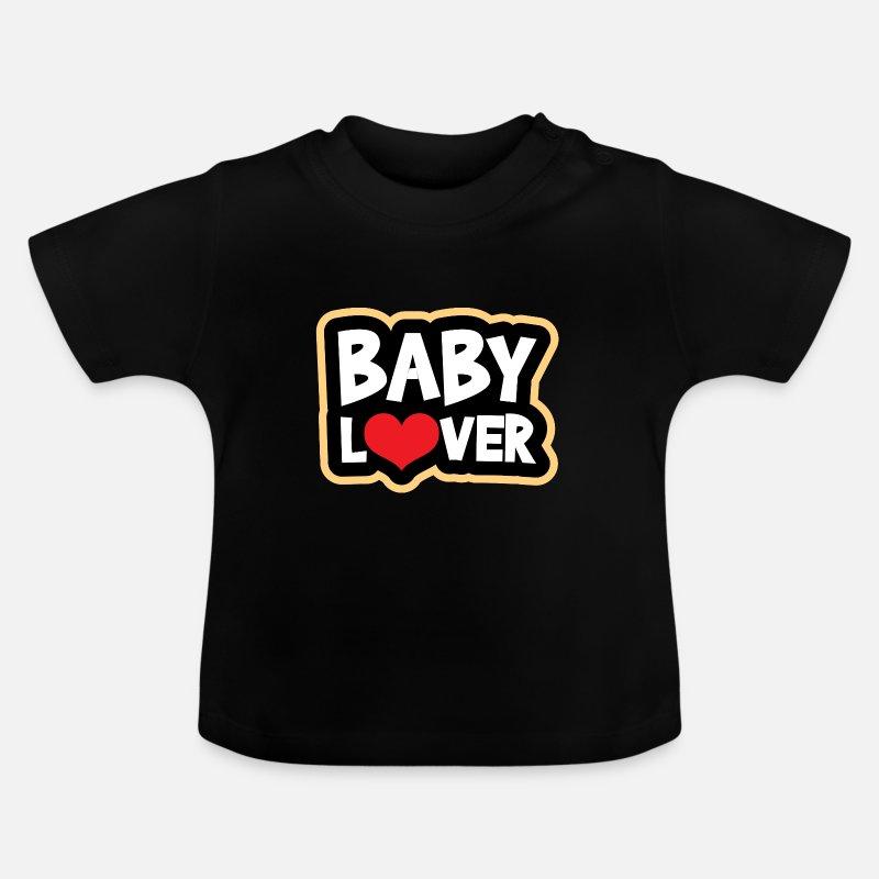 e8a28446 Jul Babyklær - baby gave barn spedbarn - Baby T-skjorte svart