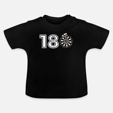 Genezing Funny Darts gift Gift voor Dart Players: On the - Baby T-shirt