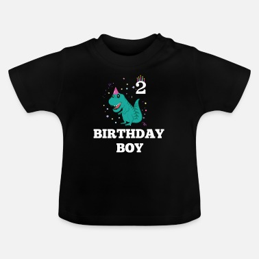 Old Birthday Boy - 2 year old - Baby T-Shirt