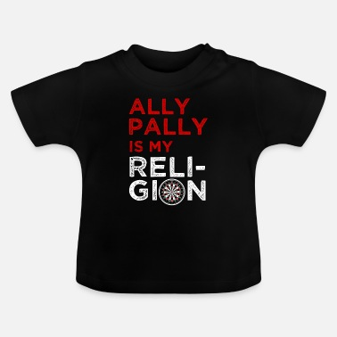 Religie Darten is mijn religie - Baby T-shirt