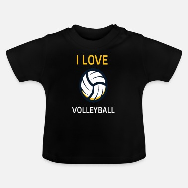 Beach Volley Volley-ball de beach volley - T-shirt Bébé