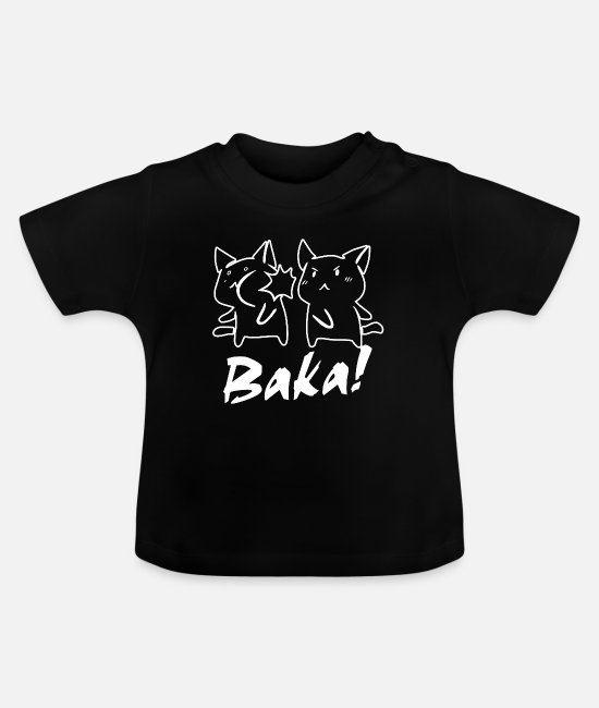 Cosplay Baby Clothes - Baka Otaku - Baby T-Shirt black