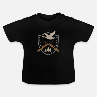 Hunting DUCK HUNTING LITTLE HUNTING DESIGN - T-shirt baby