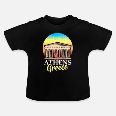 Ancient Athens Greece Hellas Ancient Acropolis - Baby T-Shirt