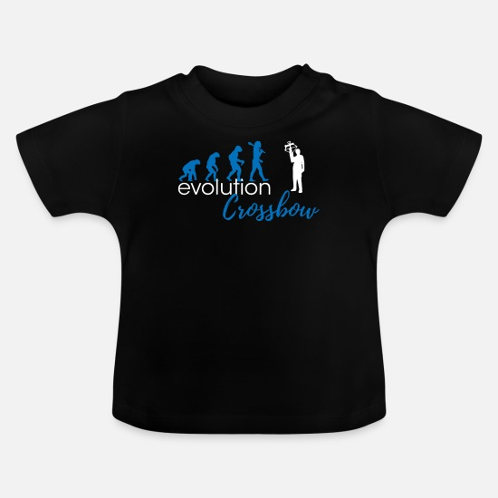 Crossbow Baby Clothes - Crossbow evolution - Baby T-Shirt black