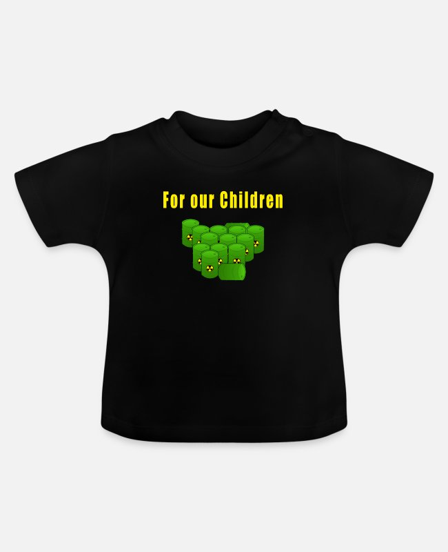 Atomic Bomb Baby T-Shirts - For our children - Baby T-Shirt black