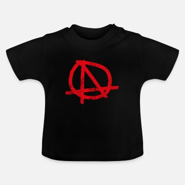 Højre ANARCHY CHAOS PUNK NIHILISM ANTIFA GIFTS - Baby T-shirt