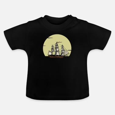 Open Sea Sailing on the open sea - Baby T-Shirt
