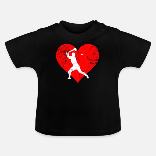 Sports Baby Clothes - I LOVE HURLING - Baby T-Shirt black