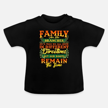 Family Crest FAMILY | Family Values Family Crest Gift - Baby T-Shirt