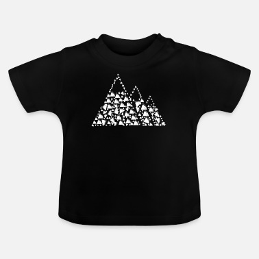 Bjerg Bjerge fra bjerge - Baby T-shirt