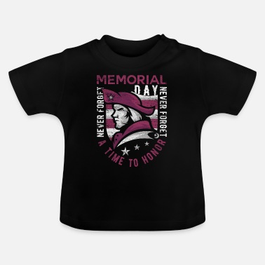 Usa Memorial Day America Civil War gave siger - Baby T-shirt