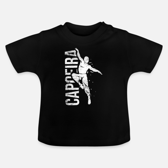 Karate Baby Clothes - Capoeira - Baby T-Shirt black