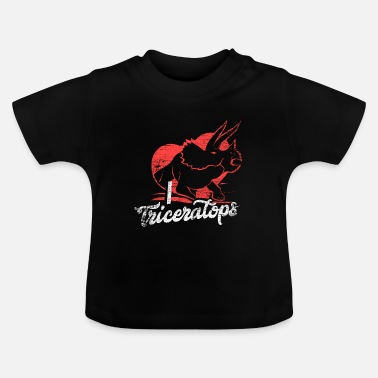Horns Triceratops gift - Baby T-Shirt