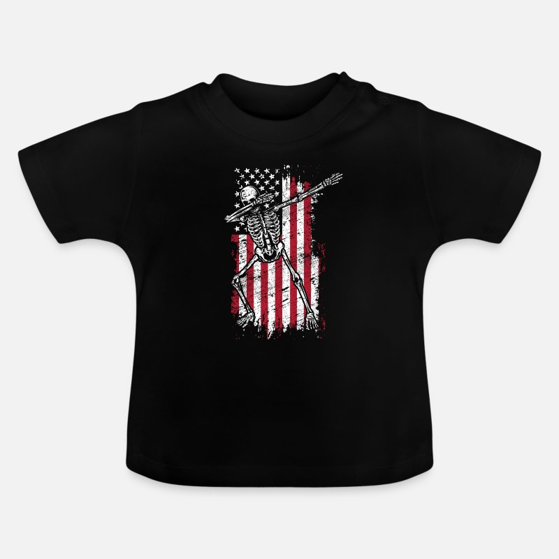 Birthday Baby Clothes - Dab - Baby T-Shirt black