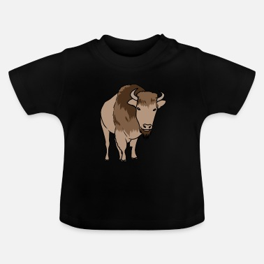 Steppe Buffalo wildlife steppe - Baby T-Shirt